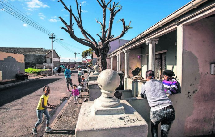 Contradictions: Bromwell Street is a modest remnant of the rapidly gentrifying Salt River.