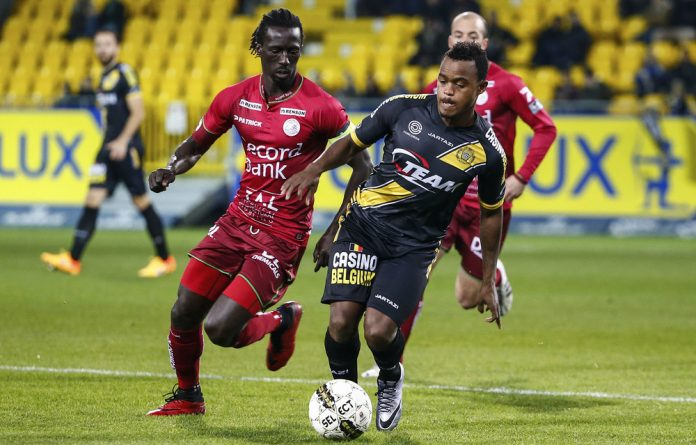 Destined for greatness: Cape Town City's Ayanda Patosi in action.