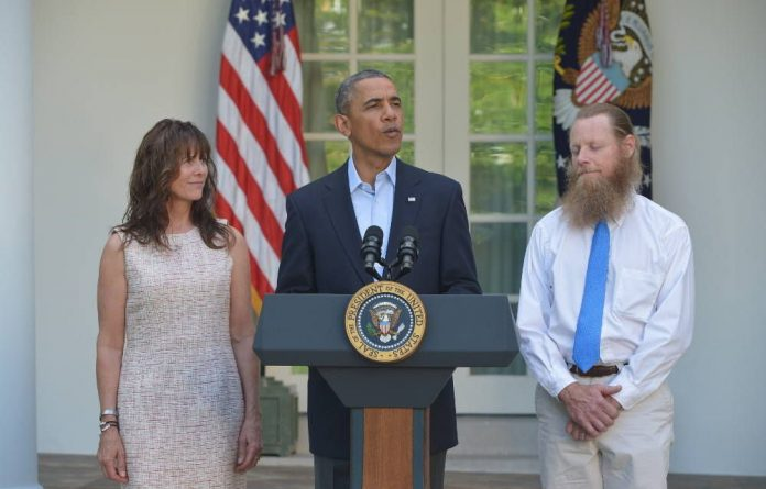 Freed American soldier Bowe Bergdahl's parents Bob