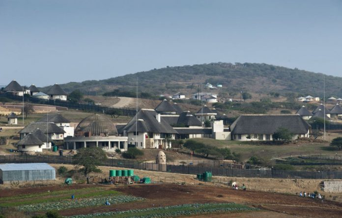 Jacob Zuma's Nkandla homestead.