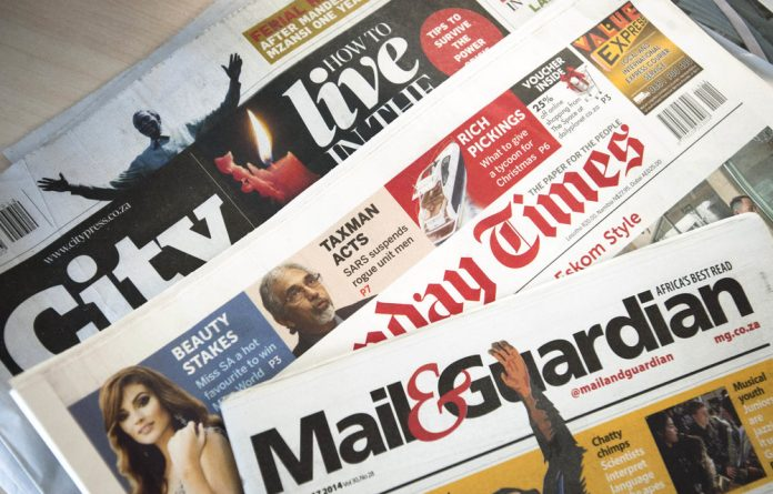 Who owns the media in South Africa?