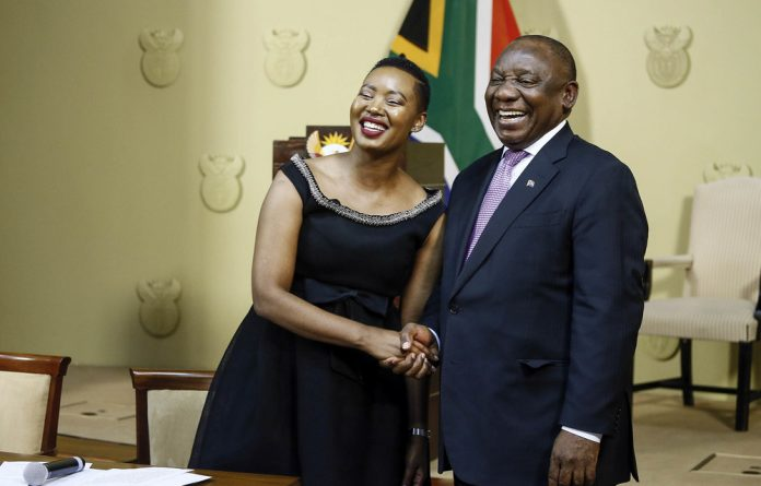 President Cyril Ramaphosa's smart move was appointing Stella Ndabeni-Abrahams as the minister of communications.