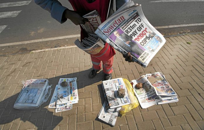 In a politically pressured environment for print media