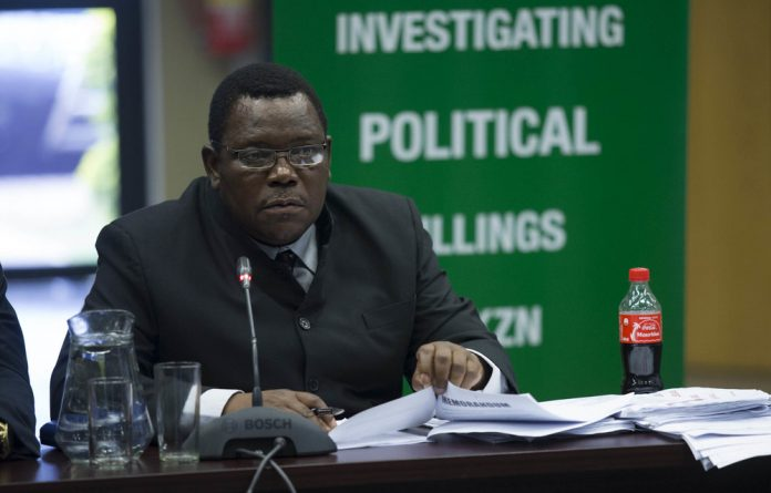 Major General Dumezweni Chiliza is alleged to have covered up crimes at the Glebelands Hostel.