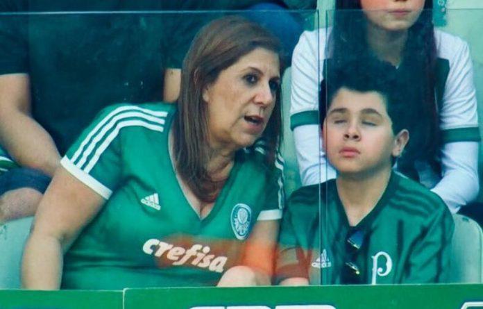 Silvia Grecco and her son Nickollas