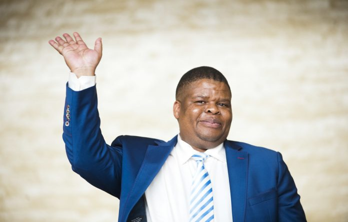 Mahlobo complained that matters were initially raised with the media
