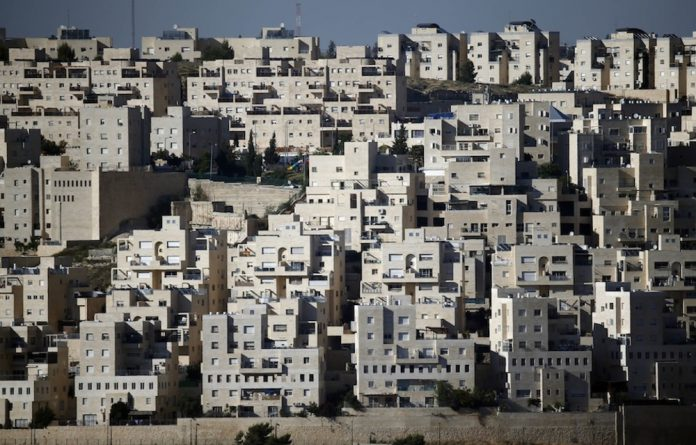 Israeli settlements in the West Bank town of Bethlehem. Israel now intends to expand into east Jerusalem.