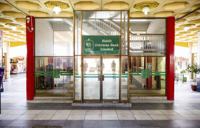 The Habib Overseas Bank head office is at the Oriental Plaza in Johannesburg.