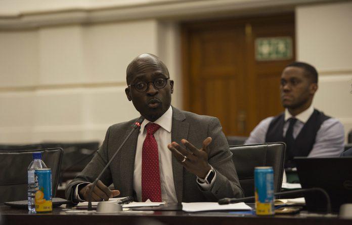 Minister Malusi Gigaba.