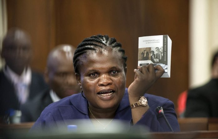 Will her head roll? Communications Minister Faith Muthambi was lambasted by the Supreme Court of Appeal for failing to consult stakeholders such as e.tv on her digital migration policy changes.