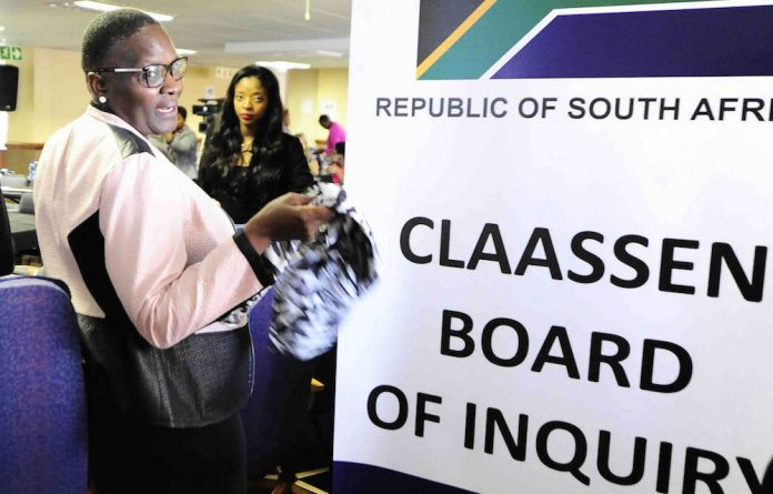 Suspended South African Police Service Commissioner