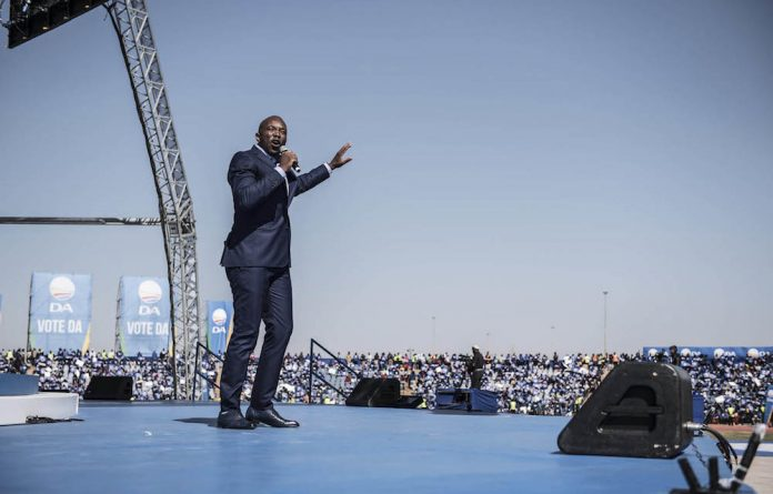 Mmusi Maimane's speech was hijacked and suddenly nobody wanted to talk about Nkandla.
