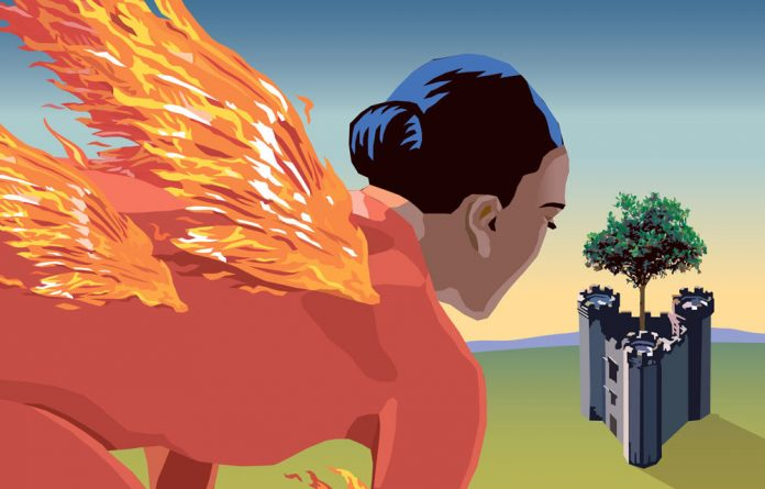 Phoenix is a near-goddess who can lay city blocks to waste with her flames.