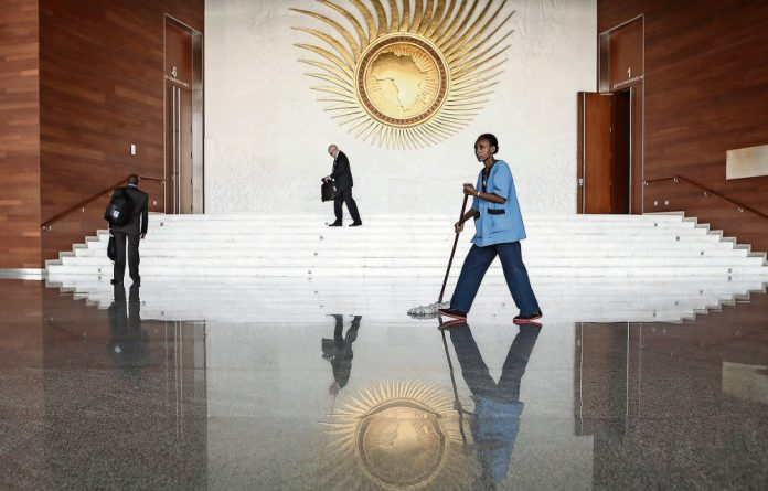 Self-serving: The AU headquarters in Ethiopia.The summit later this month is meant to be about the youth but it will be dominated by who will head the African Union Commission.
