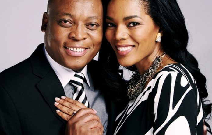 Karabo and Tau from the soapie Generations.