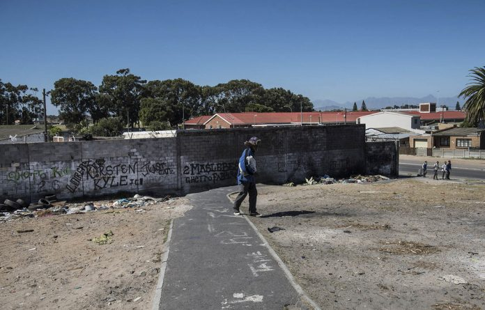 Gangs are a daily reality in many Cape Town suburbs