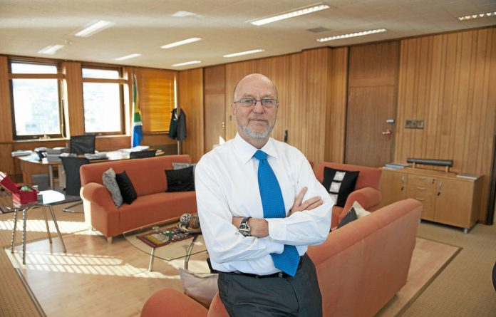 Science and Technology Minister Derek Hanekom's knowledge about the issues his department handles comes from reading.