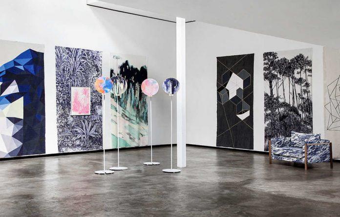 Nicole Levenberg's exhibition 'Samples I – VIII'.