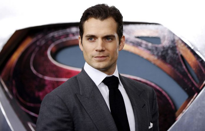 Henry Cavill at the world premiere of 'Man of Steel'.