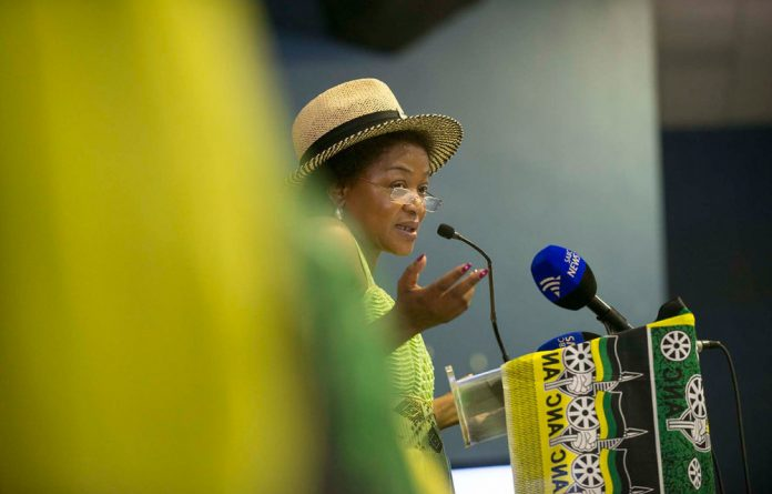 Baleka Mbete called on ANC branches to prepare themselves to fight the EFF in provincial legislatures and municipalities.