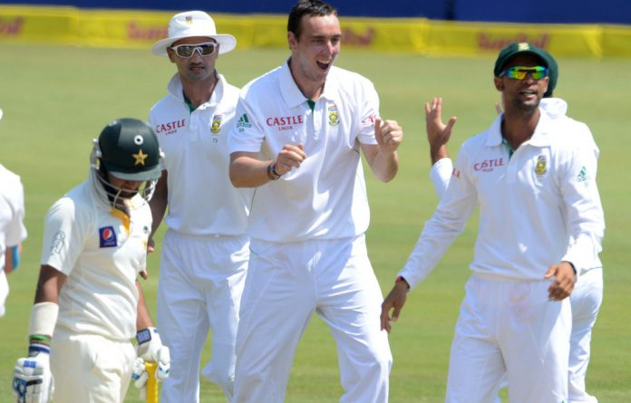 Proteas bowler Kyle Abbott.