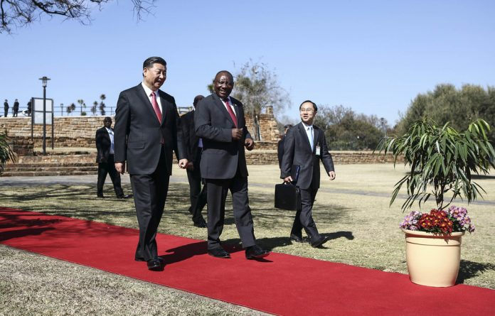 State visit: China's President Xi Jinping