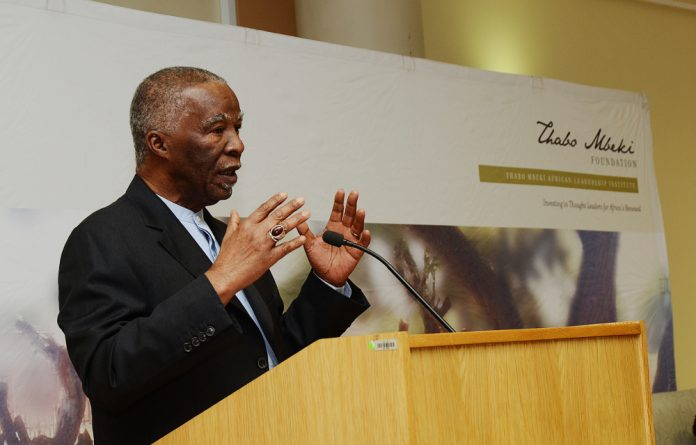 Unisa chancellor Thabo Mbeki says police have an obligation to act on complaints brought to them by communities.