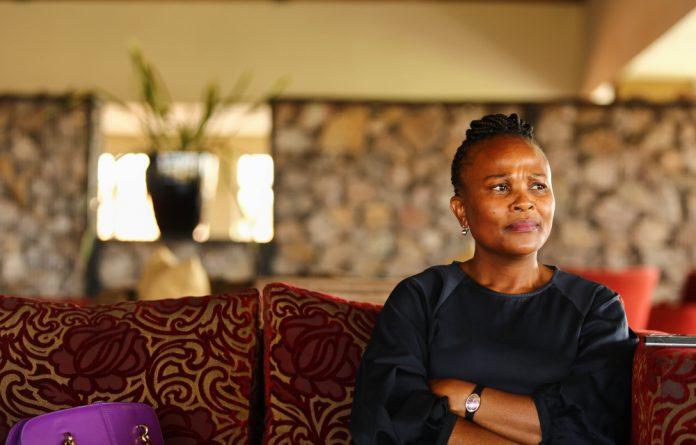 New public Protector Busisiwe Mkhwebane.