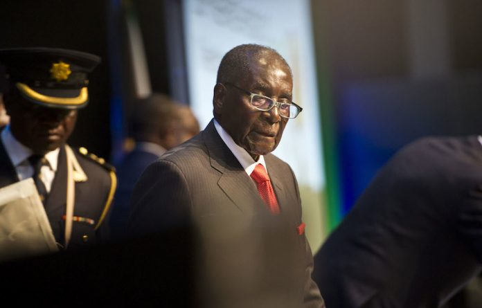 Staying power: President Robert Mugabe has joked about previous reports of his death