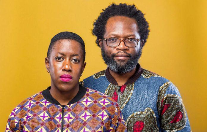 Digital community: ReadingZimbabwe.com founders Nontsikelelo Mutiti and Tinashe Mushakavanhu.