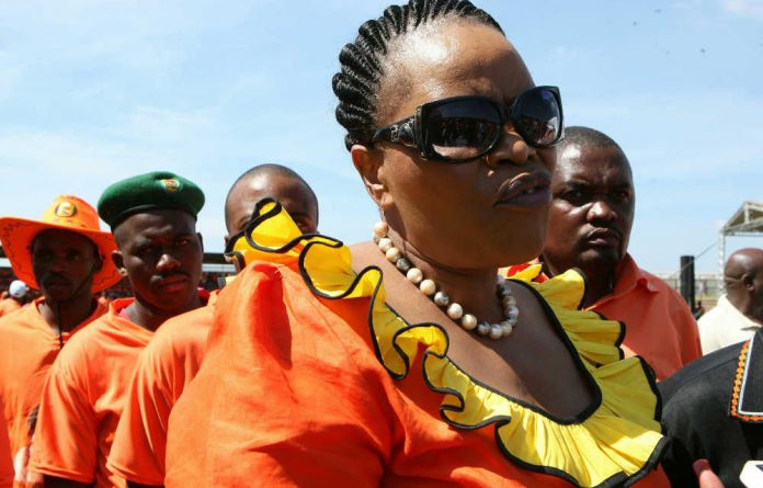 NFP leader Zanele Magwaza-Msibi.