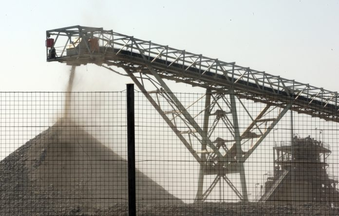 Mining accounted for about 8% of South Africa's economy in 2015 and about half of the country's exports
