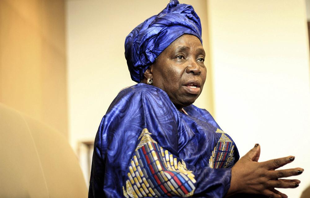 AU Commission chairperson Nkosazana Dlamini-Zuma is in the hot seat.