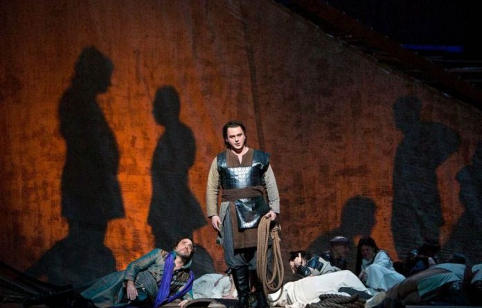 A scene from 'Les Troyens'