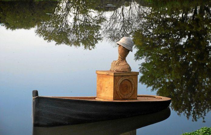 Smooth sailing: Mawande ka Zenzile's wooden steamship.