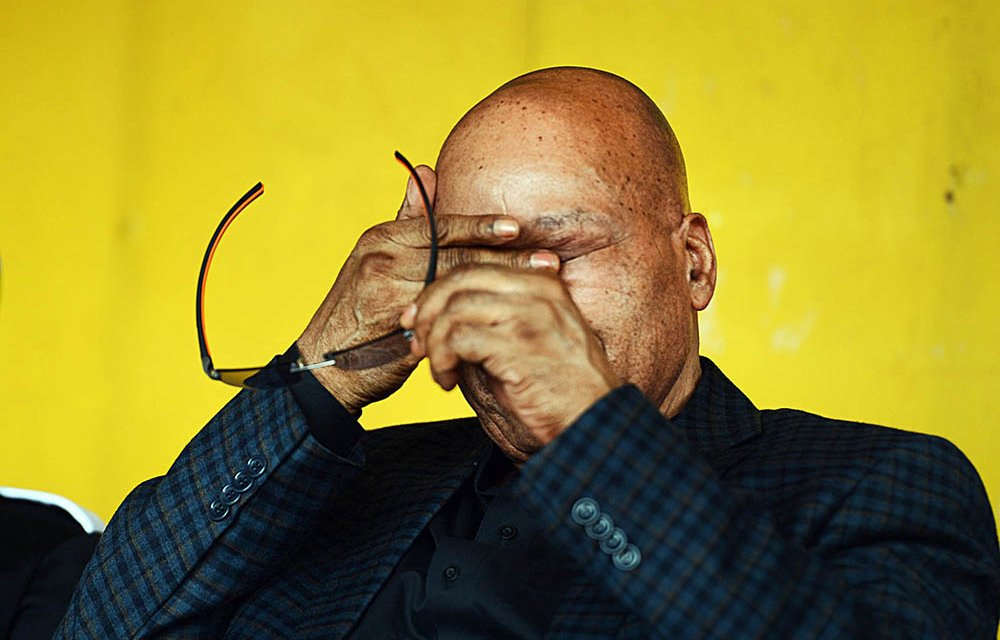 Zuma didn't go to the Constitutional Court