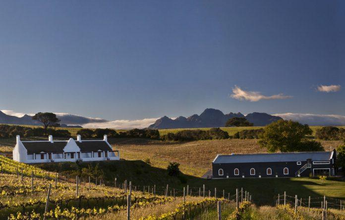 Winning winery: Aaldering Wine Estate in Stellenbosch