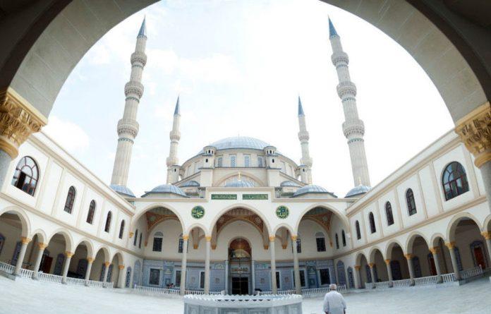 The Nizamiye Mosque in Midrand.