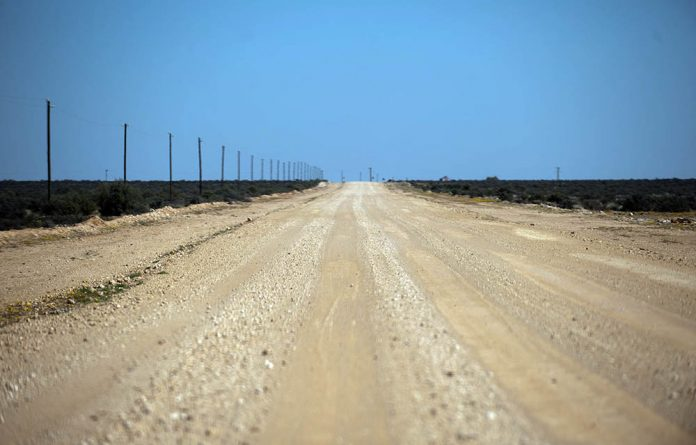 The Vaalputs low-grade nuclear waste facility is about 100km southeast of Springbok in the Northern Cape.
