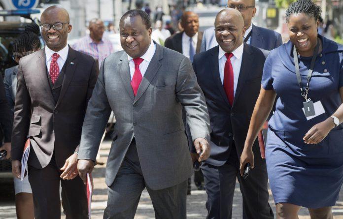 Contagion: Finance Minister Tito Mboweni