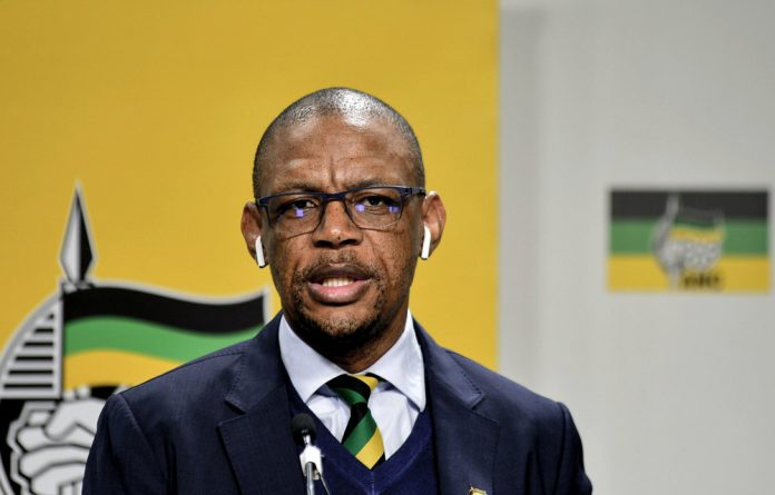 ANC spokesperson Pule Mabe's personal assistant has alleged that he harassed her on two occasions.