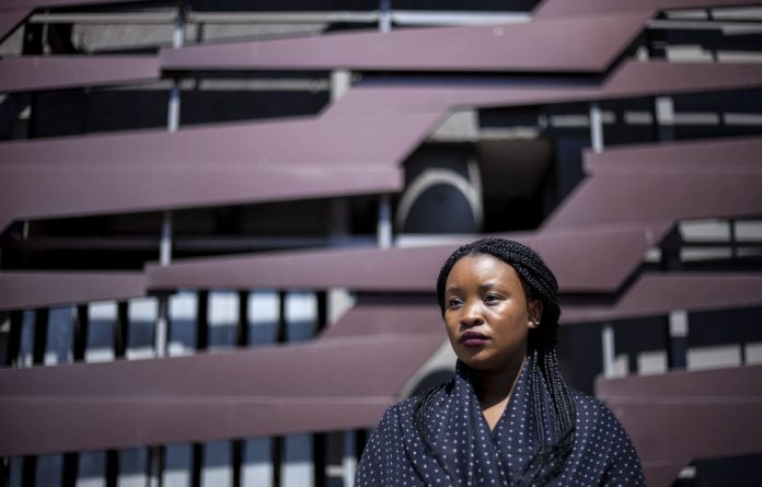 """'He thinks that Palesa can't hear him when he whispers a plea to God: """"Please think about me. I cannot do this any more"""