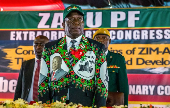Well-suited? There are doubts that President Emmerson Mnangagwa will allow a fair election in Zimbabwe