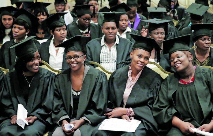 In 2017 a total of 417 239 learners who are beneficiaries of social grants wrote their matric