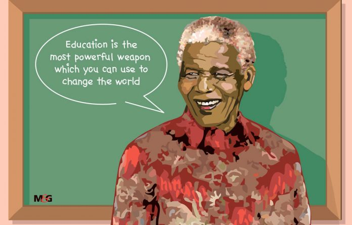 """Nelson Mandela once said: """"Education is the most powerful weapon which you can use to change the world."""""""