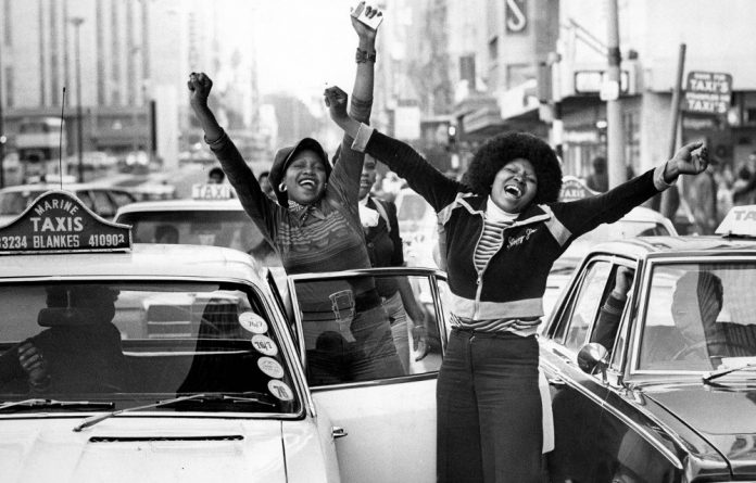 Rising up in 1976: An image used in Sifiso Khanyile's documentary 'Uprize!'