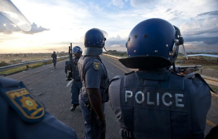 'Maximum force' is no longer a policy publicly endorsed by Minister Nathi Mthethwa.