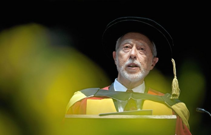 Acclaimed author JM Coetzee this week received an honorary doctorate from the University of the Witwatersrand.