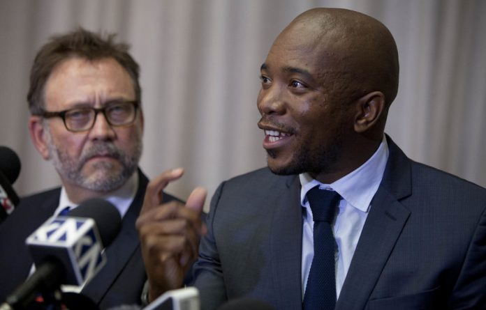 Party leader Mmusi Maimane said they had ideological differences with the EFF