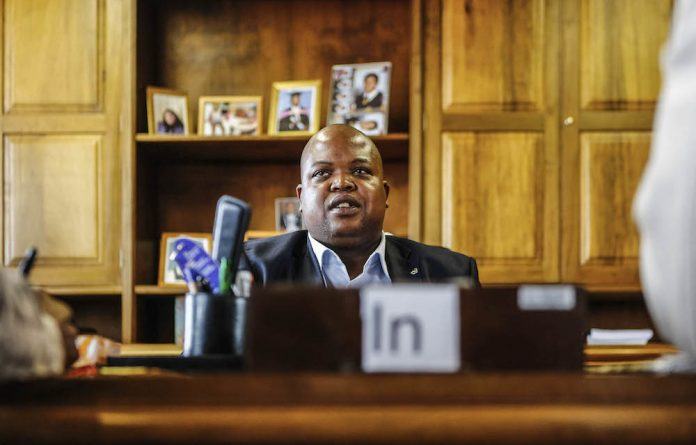 ANC Youth League leader Collen Maine apparently parachuted Thabo Mokwena into a top council job. Mokwena is in hot water over a tender.